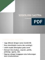 Sosiologi Sastra (Powerpoint)