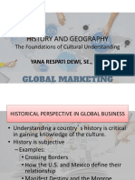 History and Geographic