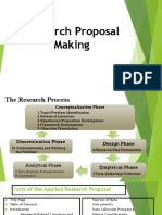 Research Proposal Making