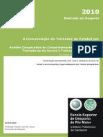Dissertação a Comunicaçao Do Treinador Futebol