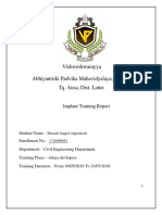 ITR Final Report