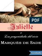 Marques de Sade - Juliette