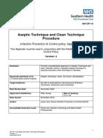 Aseptic Technique and Clean Technique Procedure V4.pdf