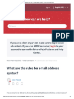 What Are the Rules for Email Address Syntax [Help.returnpath.com]