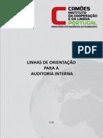 Linhas Orientação Auditoria Interna