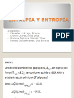 Entalpia y Entropia Montoya