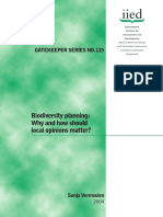 Biodiversity Planning
