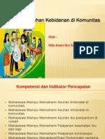 PENERAPAN ASUHAN KEBIDANAN DI KOMUNITAS.pptx
