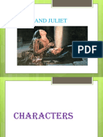 Characters of Romeo and Juliet Ppp