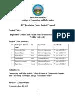 Digital File Cabinet and Smart Office Communication Proposal (2)