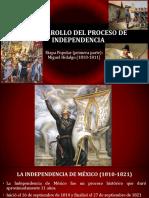 Desarrollo del proceso de independencia (Hidalgo).pptx