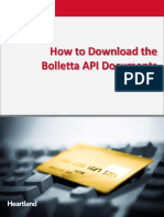 Bolletta API Download v2