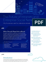 Future of Intranets Enterprise Social Networks is Interactive Intranets