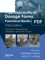 Pharmaceutical Dosage Forms - Parenteral Medications (Volume 3)