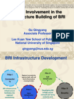 Private Involvement in the Infrastructure Building of BRI