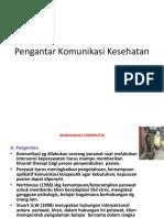 Pengantar Komunikasi Kesehatan minggu 2.pptx