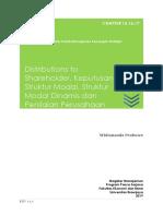 Chapt 15,16,17 - Distributions, Struktur Modal, Struktur Modal Dinamis.docx