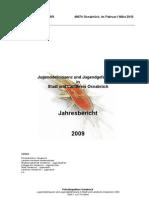 Statistik Jugendgefährdung Jugenddelinquenz 2009 Osnabrück. jugendkri2009