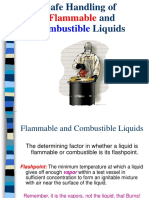 Flammableliquids Safe Handling
