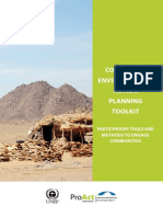 Community Environmental Action Planning Toolkit Example