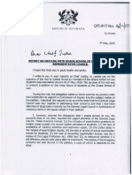 President - Letter to CJ (GSL SRC Petition) With Petition