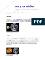 Los Planetas y Sus Satelites