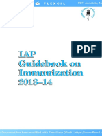 IAP Guidebook on Immunization 2013 14