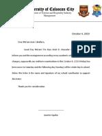 Kym Letter