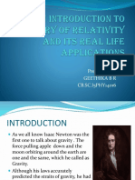 An Introduction to Theory of Relativity