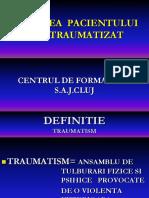 imobilizarea pacientului traumatizat