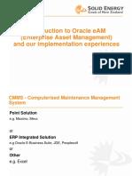 Introduction to Oracle Enterprise Asset Management.ppt