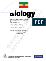 Ethiopian Grade 12 Biology Student Textbook