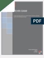 Tehri Dam Report Anant Maheshwari ISEM 9