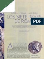 García Gual, Carlos - Los Siete Reyes de Roma, Entre La Historia y La Leyenda(Historia National Geographic)