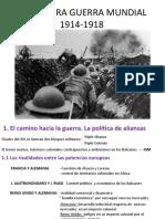 T.7- La I Guerra Mundial