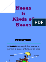 Nouns, Verbs, Pronouns