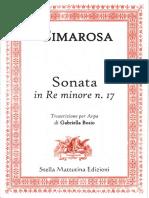 Cimarosa-Sonata in Re Minore No.17