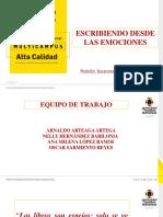 Ag. 29. Presentación Ana Milena