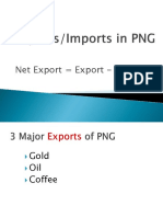 Exports and Imports in PNG-Group 4