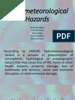 Hydrometeorological Hazards