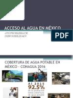 Acceso Al Agua en México
