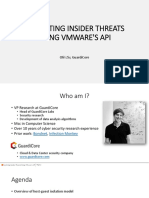 Us 17 Ziv Escalating Insider Threats Using Vmware's API