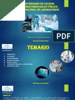 Capacitación Laboratorios de Salud Publica