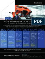 Calendario de Treinamentos_2ºSemestre CTH-MINASMÁQUINAS