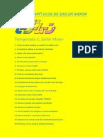 Guía de Capítulos de Sailor Moon