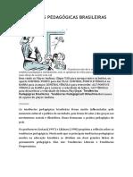 TENDÊNCIAS PEDAGÓGICAS BRASILEIRAS