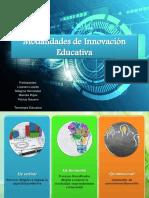 Modalidades de Innovación Educativa