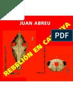 Abreu Juan - Rebelion en Catanya