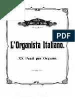 organista italiano XX pezzi per organo
