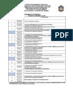 Cronograma Actividades 2-2019
